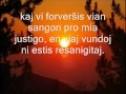 MIA DIO SANIGAS Esperanto